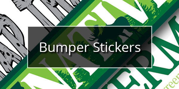 Vermont Clothing Co. - Bumper Stickers
